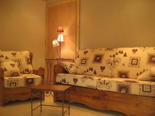 Chambre d'hote Vosges - Le salon