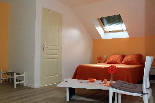 Chambre d'hote Marne - 1ère chambre de la suite