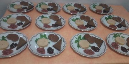 Chambres d'Hôtes Les Perles de Aime Nouvel an, foie gras pain d'épice, les perles de aime
