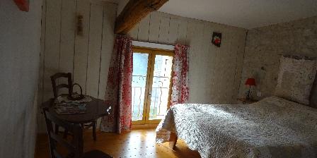 Chambres d'Hôtes Le Pradon Chambre COQUELICOT