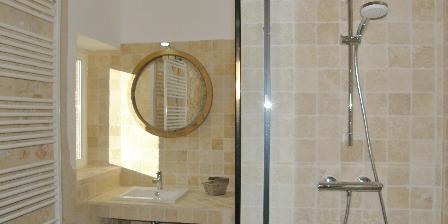 Gîte La Jinolié Une salle de douche
