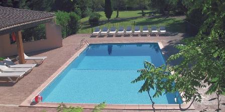 Château de La Motte - Gîtes et Salle de Réunion La piscine