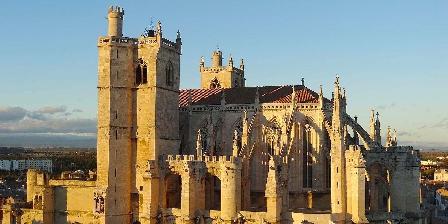 Château de La Motte - Gîtes et Salle de Réunion Cathédrale de Narbonne