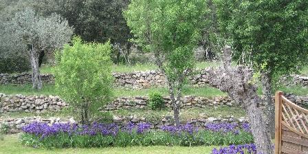 Mas de Valz, gîte La Grive Vue de la terrasse