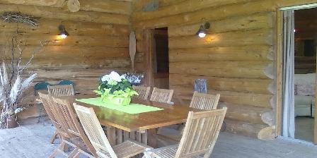 Gîte La Maison Forestière Terrasse