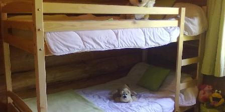 Gîte La Maison Forestière Chambre 4 lits superposés