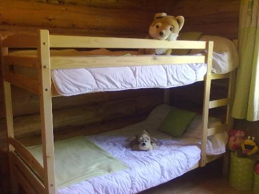 Chambre 4 lits superposés