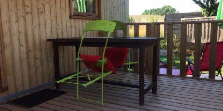 Gite Le Cocon au Potager > la terrasse