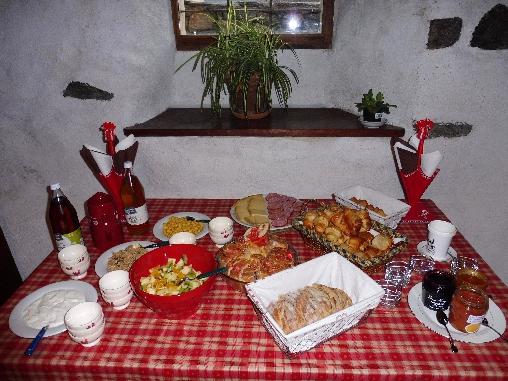 Chambre d'hote Savoie - Buffet  petit déjeuner