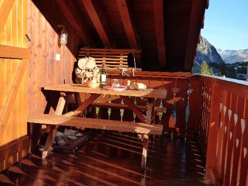 bed & breakfast Savoie - La terrasse ensoleillée, l'Eté