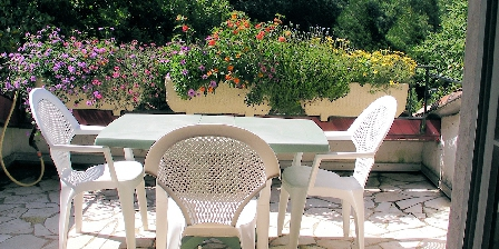 Uxondoa Terrasse de la suite familiale