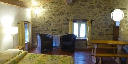 Chambre d'Hôtes Mas Taillet Intérieur de la chambre