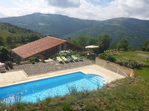 Chambre d'hote Pyrénées-Orientales - la piscine