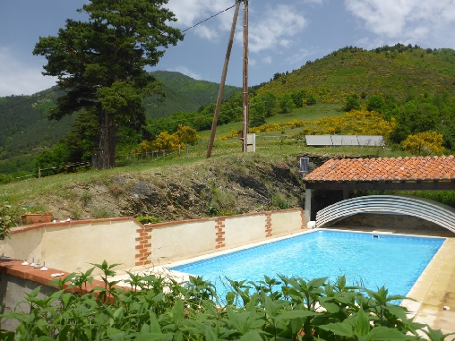 bed & breakfast Pyrénées-Orientales - swimmingpool