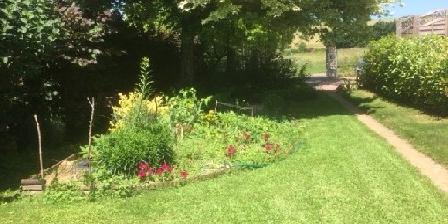 Le Verger de Danielle Vue sur le jardin