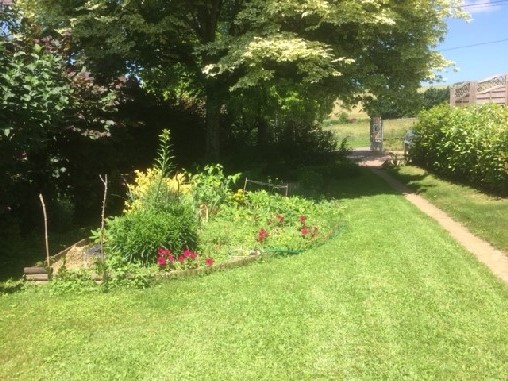 Chambre d'hote Aube - vue sur le jardin