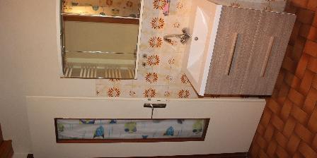 Gite Les Follières Salle de bain