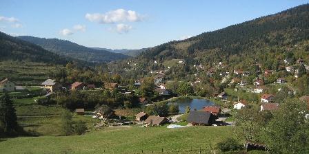 La Vallée Vue sur l'étang