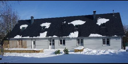 Gite de La Pointe Ridel Gite de La Pointe Ridel Sous la neige