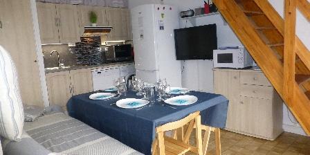 Location de Vacances Hameau du Rivage Christelle  Michel Gozet Le Séjour - Cuisine