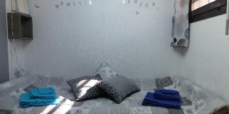 Location de Vacances Hameau du Rivage Christelle  Michel Gozet 1er espace Mezzanine offrant 2 couchages