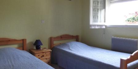 Gîtes de La Rive Chambre 2 lits 90