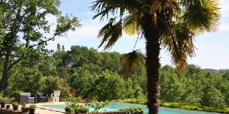 Gites Nieudegat Pool and terrace