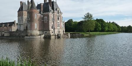 Gîte La Poudre d'Escampette Château de La Bussière (15km)