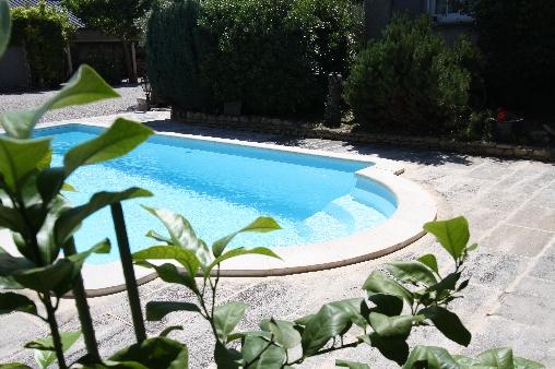 Chambre d'hote Bouches du Rhône - Espace piscine