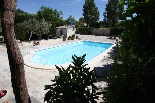 Chambre d'hote Bouches du Rhône - Piscine