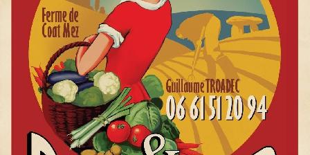 Vue Exceptionnelle Plage de Trestel Près Perros-guirec Des légumes bio en vente directe à la ferme de Guillaume