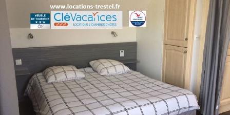 Vue Exceptionnelle Plage de Trestel Près Perros-guirec Nos locations au bord de la plage de sable fin de Trestel