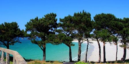 Vue Exceptionnelle Plage de Trestel Près Perros-guirec La plage de Trestel à 50m des locations