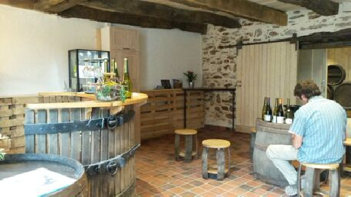bed & breakfast Loire-Atlantique - cellar tasting room