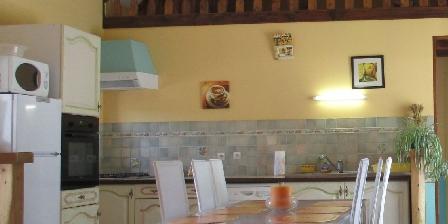 Gîte l'Hermine Dining area