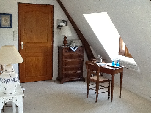Chambre d'hote Indre -  chambre bleue