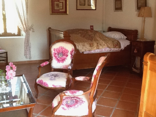 Chambre d'hote Indre - chambre rose