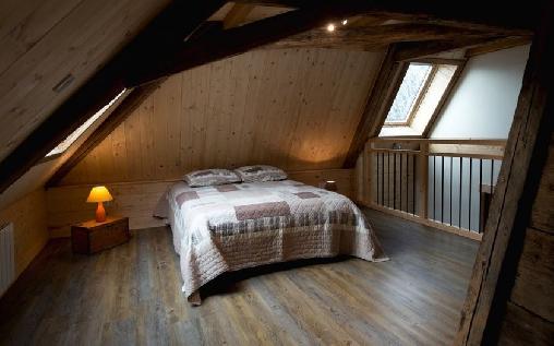 2ème étage : mezzanine lit 2 places