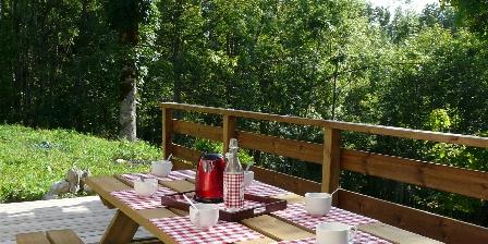 Le Chat Botté Petit déjeuner sur la terrasse