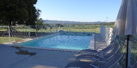 La Bastide des Borels La piscine