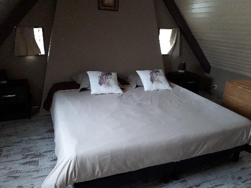 Chambre d'hote Finistère - Chambre CHÂTAIGNE (2 lits réunis)