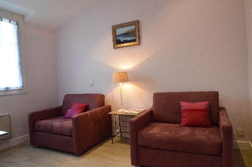Chambre d'hote Loire-Atlantique - Salon de la chambre Nymphéa
