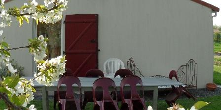 Gite de Lavaud Richer Côté jardin