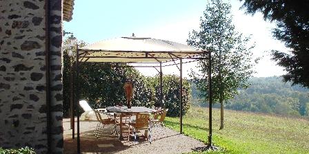 Gîtes Bataillou Terrasse du Frêne