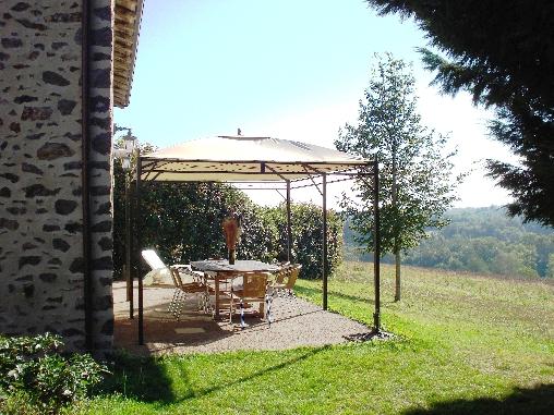 Chambre d'hote Haute-Vienne - Terrasse du Frêne