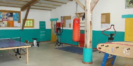 Gîtes Bataillou Salle de jeux.