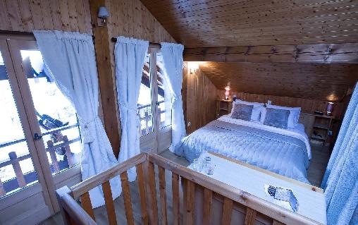 Chambre d'hote Haute-Savoie - sauna dans chambre Lauzes