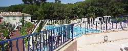Holiday rental Sainte Maxime T2 Label 3 étoiles Clim Piscine Garage