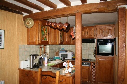 Chambre d'hote Orne - Cuisine ouverte