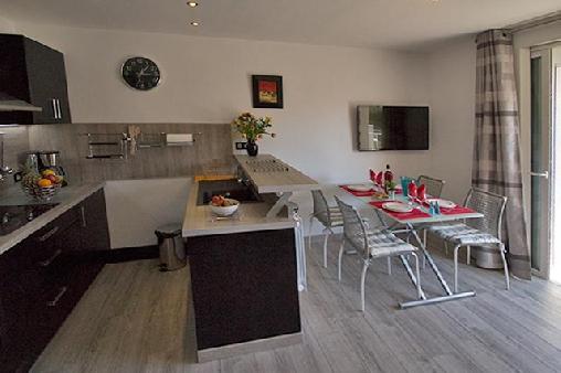Chambre d'hote Bouches du Rhône - Cuisine Américaine et coin repas